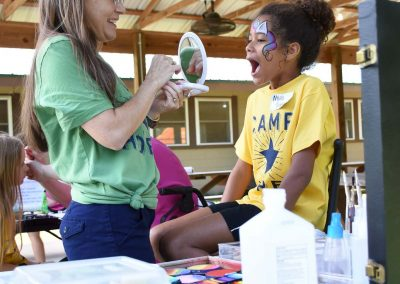 Camp Hope face painting